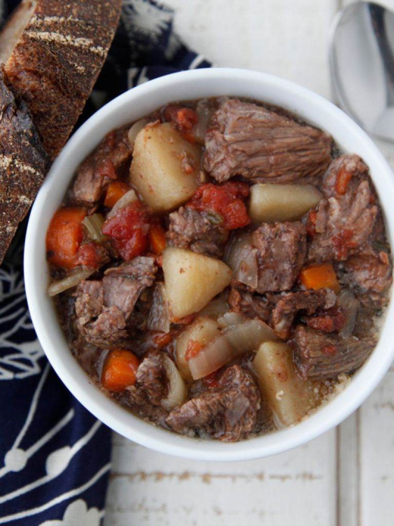 Venison Stew Crock Pot  Beef Stew in the Crock Pot VIDEO