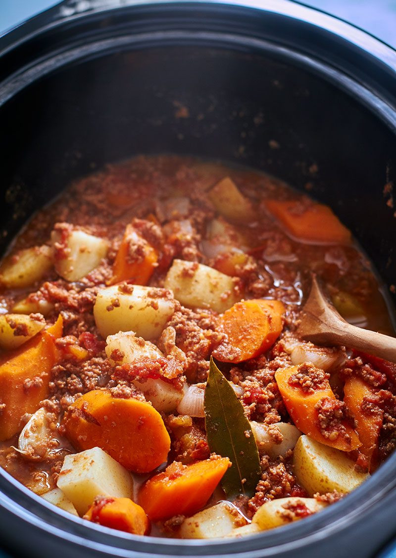 Venison Stew Crock Pot  Crock Pot Ground Beef Stew Potato and Carrot — Eatwell101