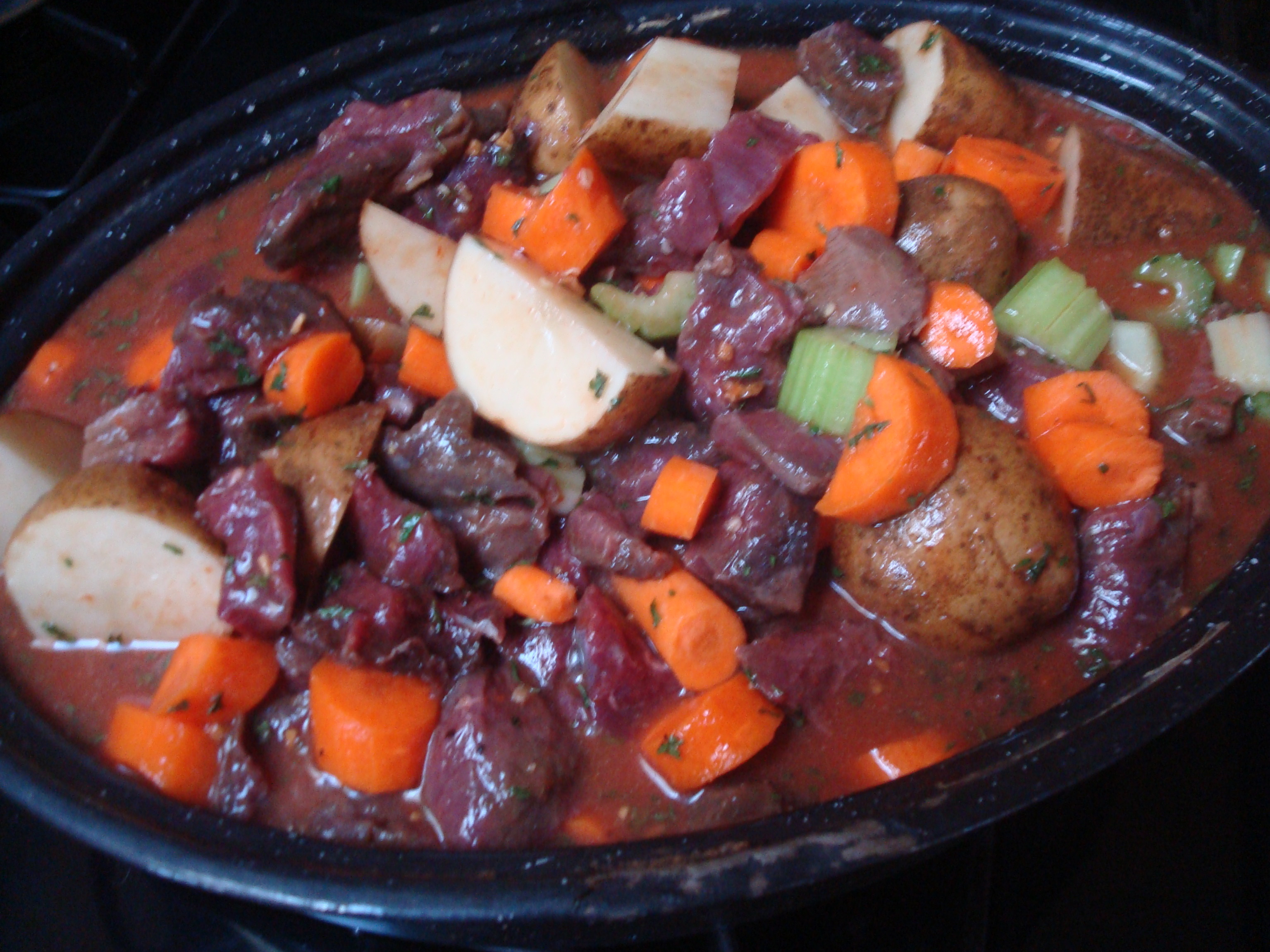 Venison Stew Crock Pot  venison stew