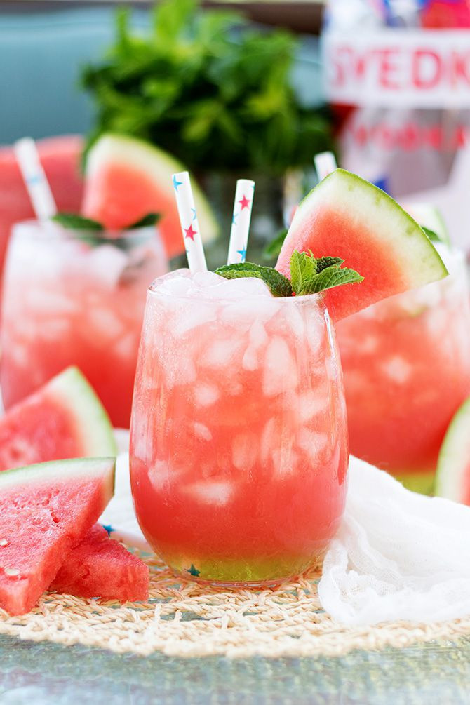 Vodka Watermelon Drinks  watermelon vodka drinks
