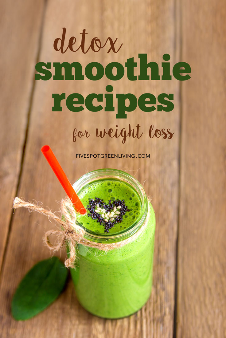 Weight Loss Smoothie Recipes  10 Detox Smoothie Recipes for Weight Loss