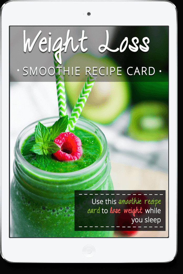 Weight Loss Smoothie Recipes  green thickies weight loss