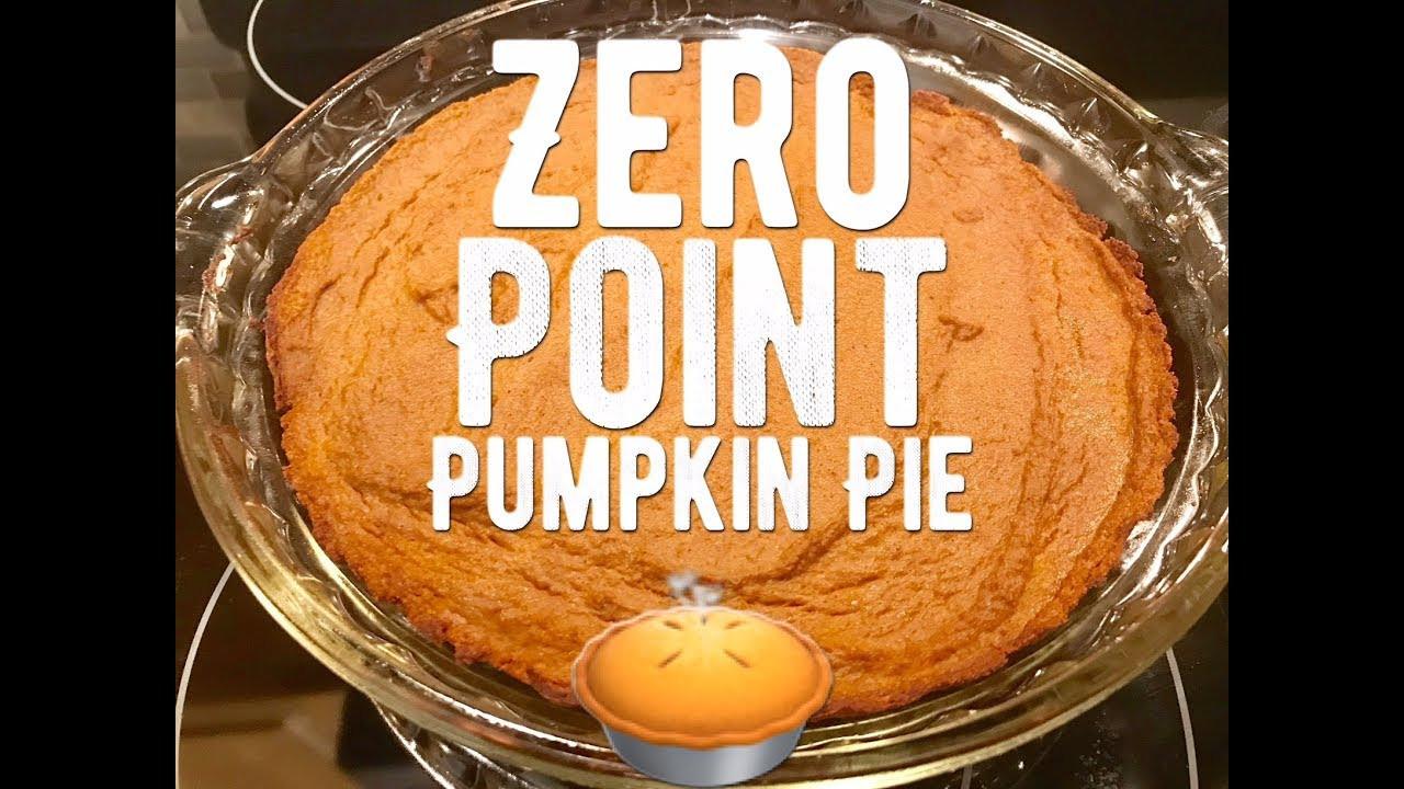 Weight Watchers Crustless Pumpkin Pie  weight watchers smartpoints pumpkin pie