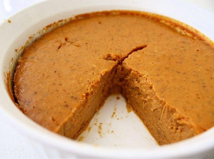 Weight Watchers Crustless Pumpkin Pie  Crustless Pumpkin Pie Recipe