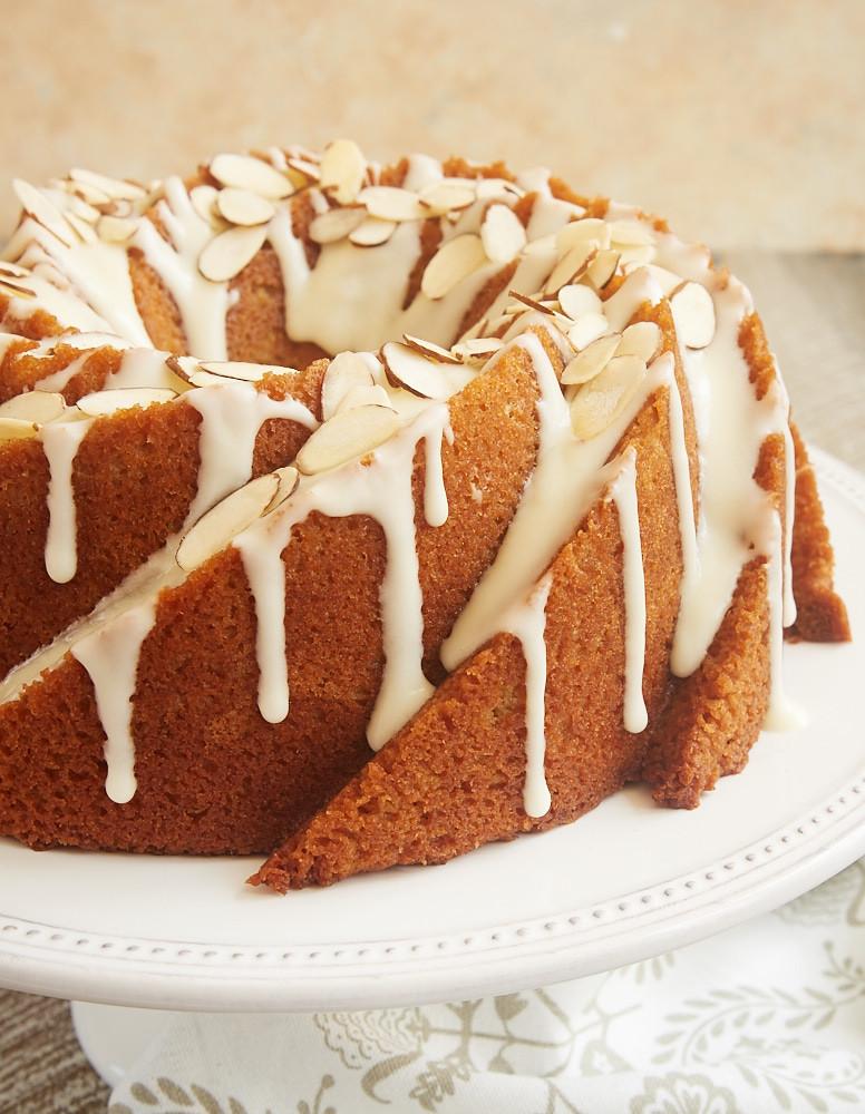 What Is A Bundt Cake  Amaretto Almond Bundt Cake Bake or Break