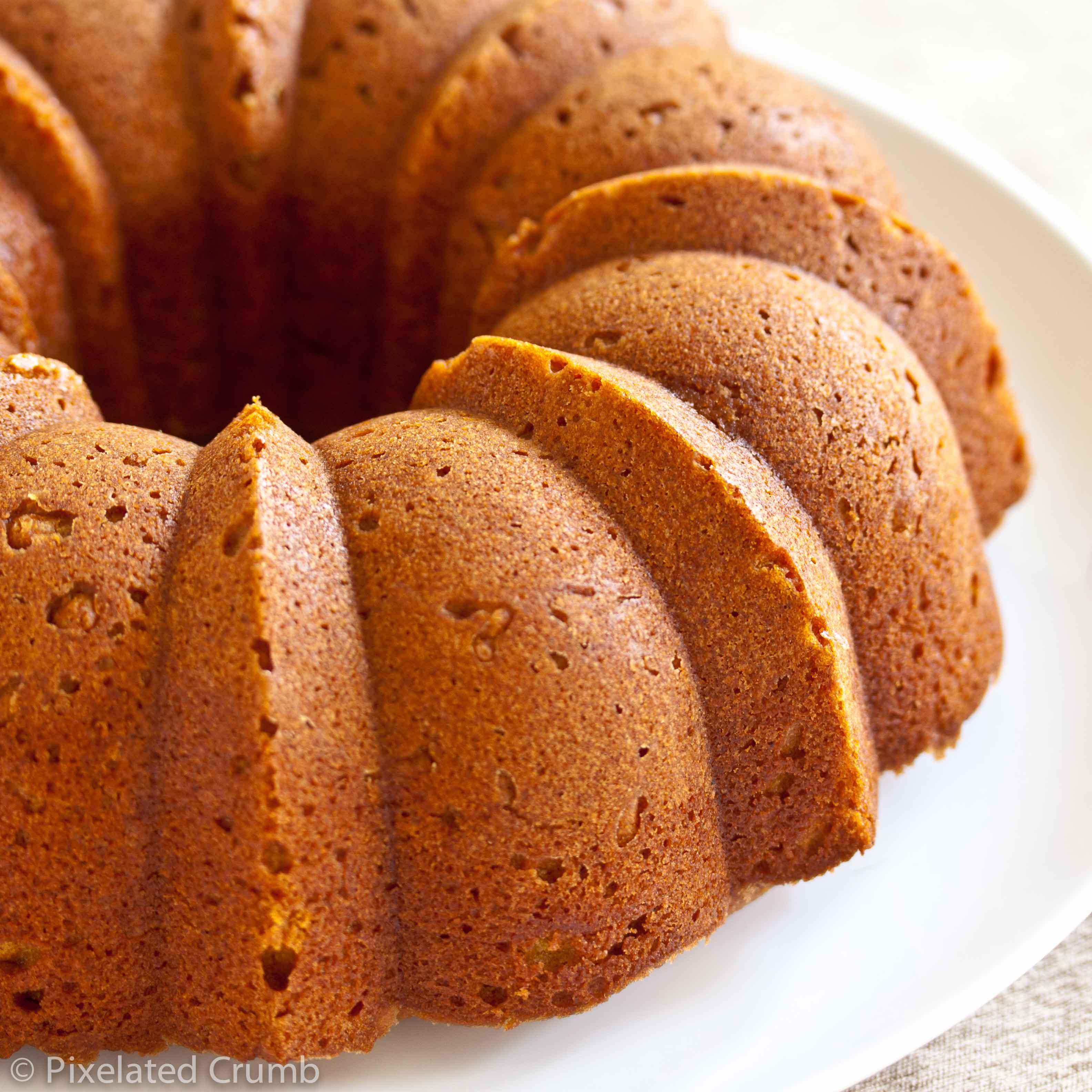 What Is A Bundt Cake  Pumpkin Buttermilk Bundt Cake