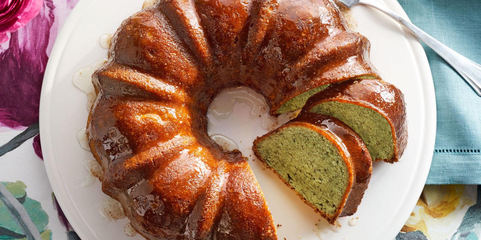 What Is A Bundt Cake  Pistachio Lemon Bundt Cake