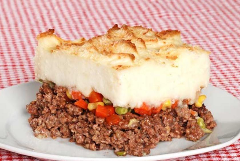 What Is Shepherd'S Pie  Samuel Adams Irish Red Shepherd s Pie with Shamrock
