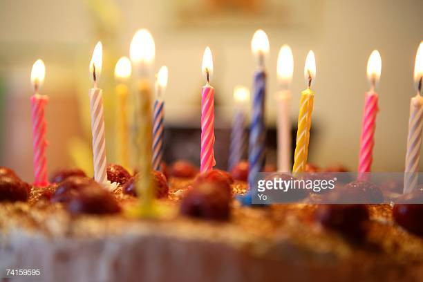 When Did Adding Candles To The Birthday Cake Originated  Birthday Cake Lots Candles Stock s and