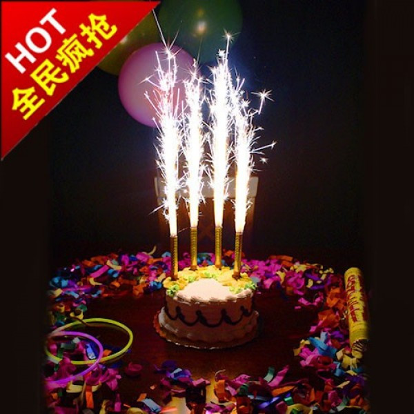 When Did Adding Candles To The Birthday Cake Originated  Firework Candle For Birthday Cakes Sparklers candles