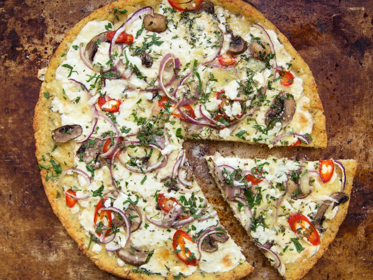 Where To Buy Cauliflower Pizza Crust  Cauliflower Crust Pizza Recipe Anna Painter