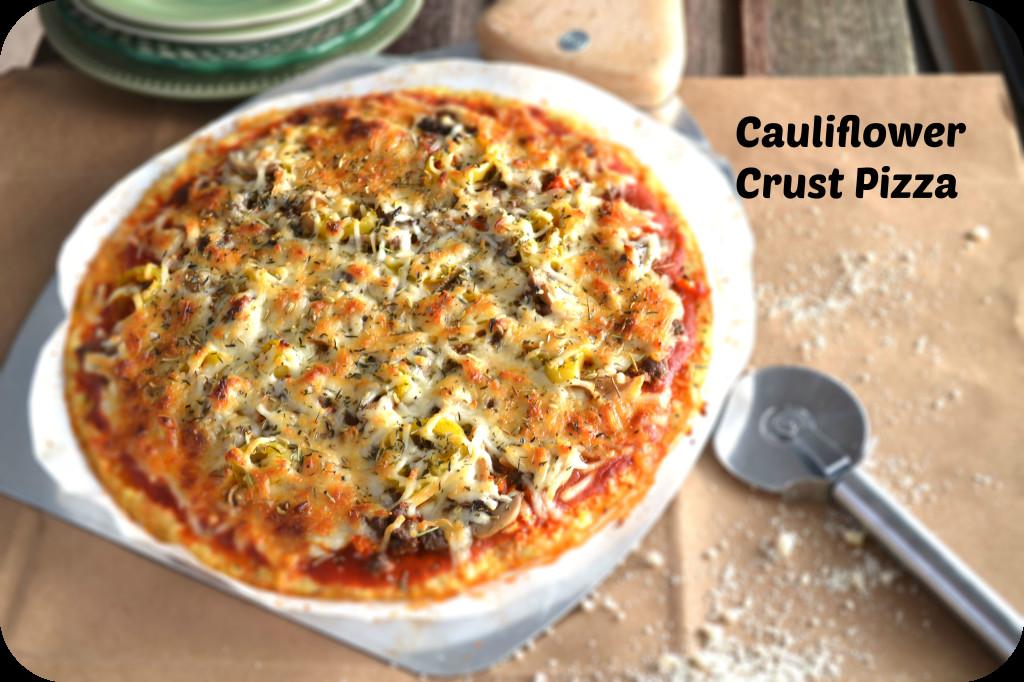 Where To Buy Cauliflower Pizza Crust  Cauliflower Crust Pizza Low Carb