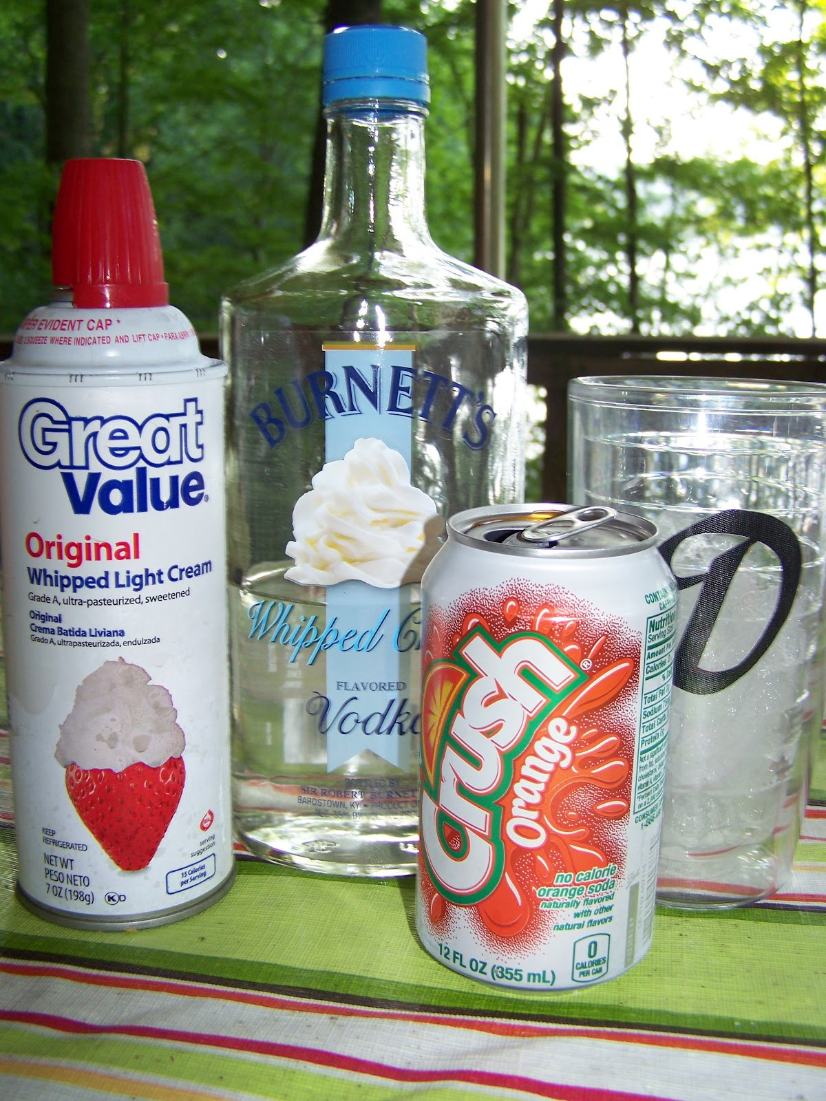 Whipped Vodka Drinks  Man That Stuff Is Good Whipped Cream Vodka Creamsicle
