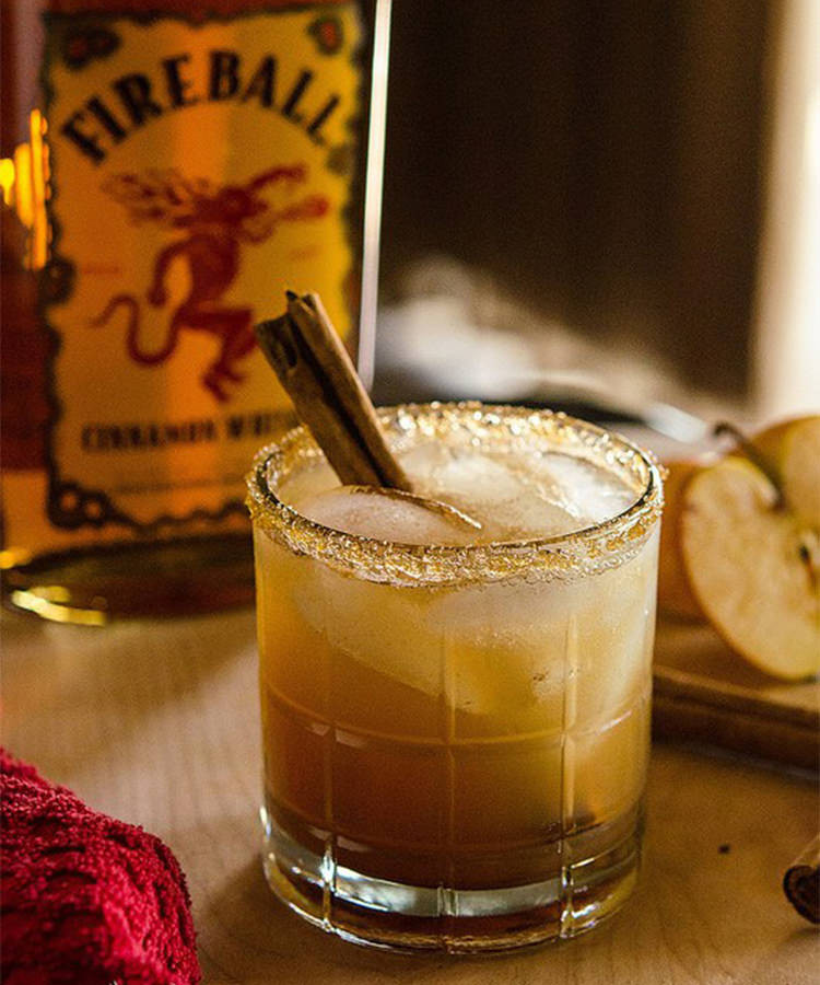 Whiskey Mixed Drinks  9 of the Best Fireball Whisky Cocktail Recipes