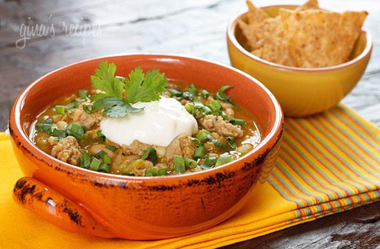 White Bean Turkey Chili  16 Autumn Crock Pot Recipes