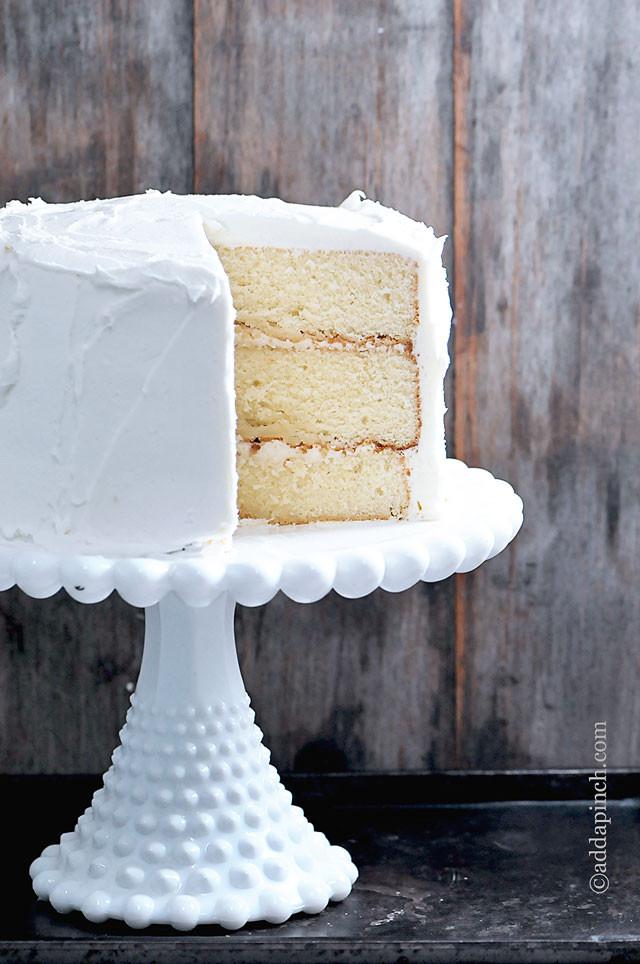 White Cake Recipes  The Best White Cake Recipe Ever Add a Pinch