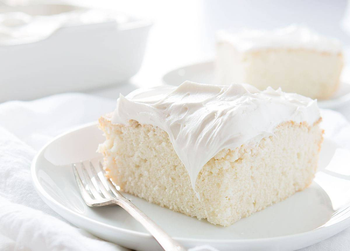 White Cake Recipes  White Cake Recipe