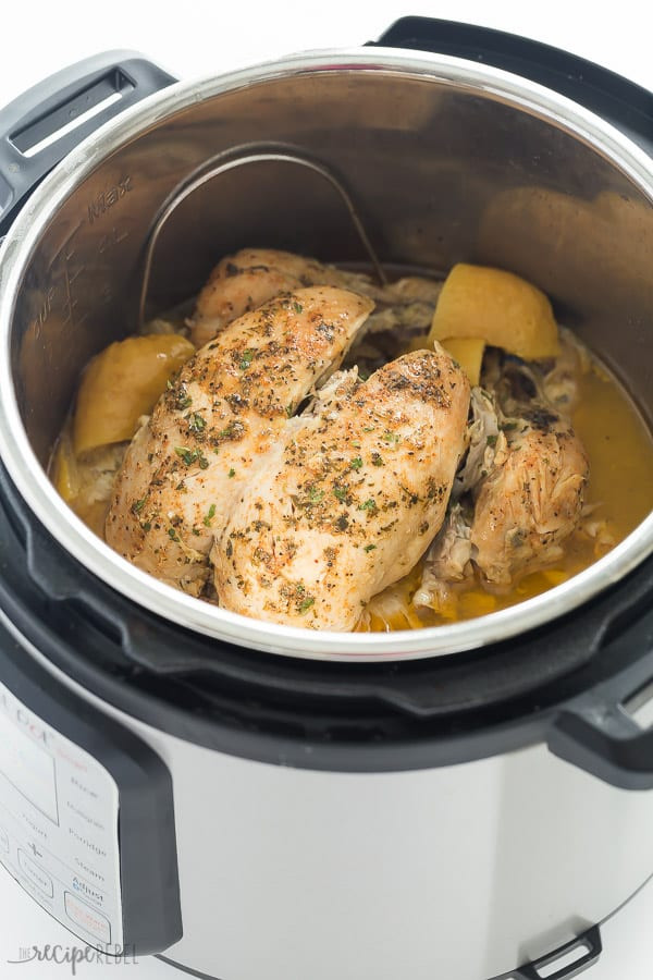 Whole Chicken In Instant Pot  Instant Pot Whole Chicken Recipe from fresh or frozen