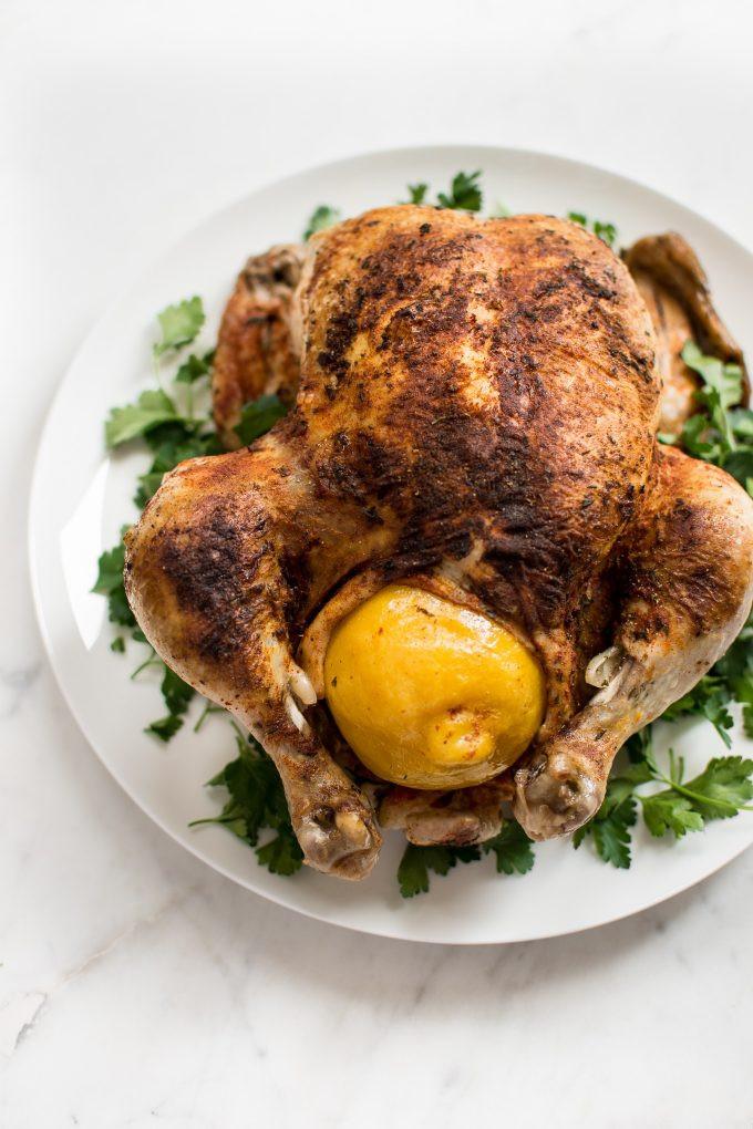 Whole Chicken In Instant Pot  Instant Pot Whole Chicken • Salt & Lavender