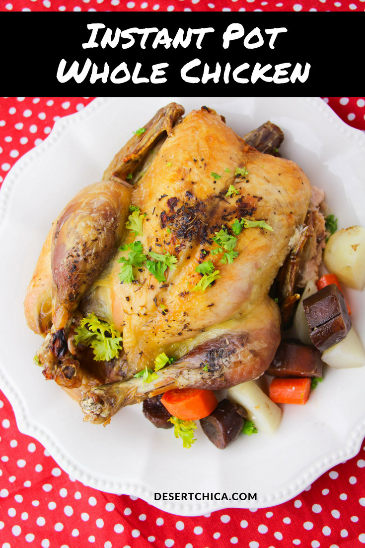Whole Chicken In Instant Pot  Instant Pot Whole Chicken