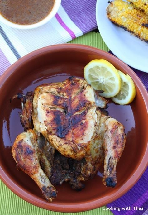 Whole Chicken Marinade  Grilled Whole Chicken Using Homemade Marinade