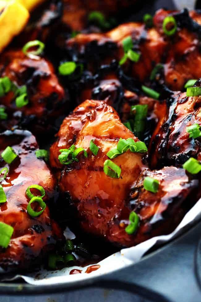 Whole Chicken Marinade  Grilled Huli Huli Chicken