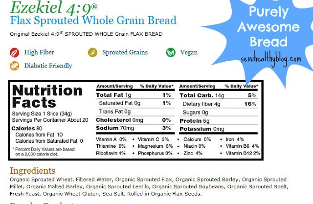 Whole Grain Bread Nutrition  Low Calorie doesn t always mean healthy Change your Food