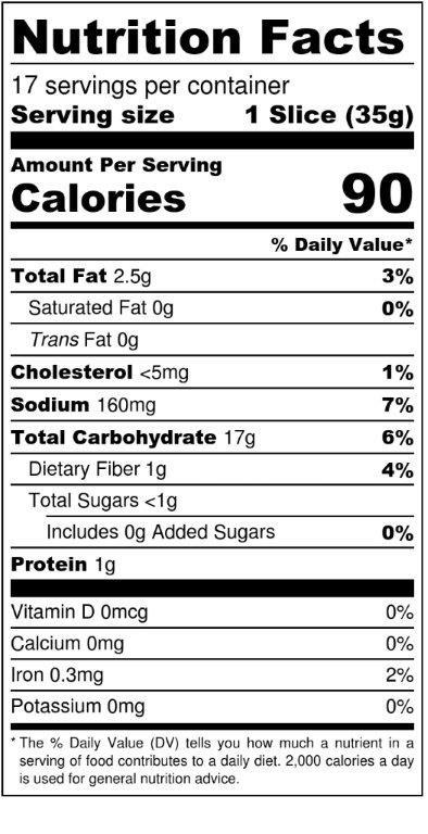 Whole Grain Bread Nutrition  Whole Wheat Bread Nutrition Label Nutrition Ftempo