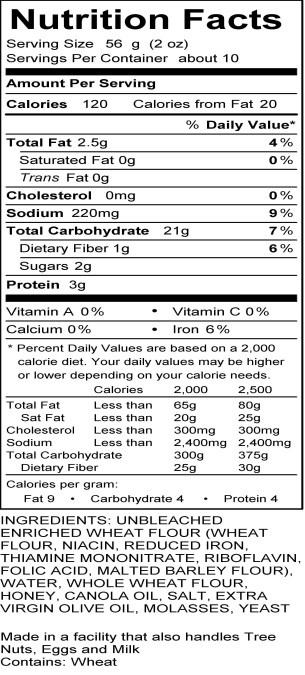 Whole Grain Bread Nutrition Facts  Whole Wheat Bagel Nutrition Facts Nutrition Ftempo