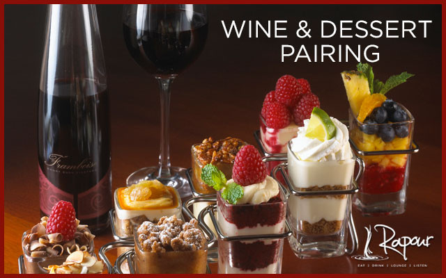 Wine And Dessert  Spots still available for tomorrow's Holiday Wine and
