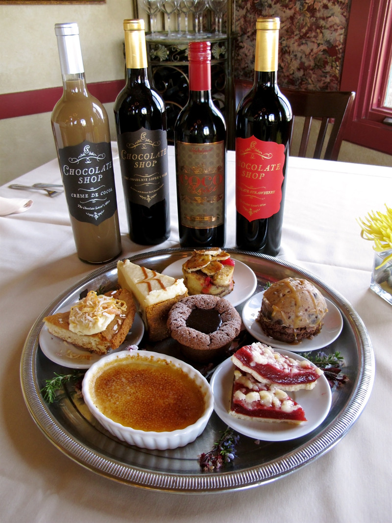 Wine And Dessert  WINEormous visits Thornton Winery for their launch of