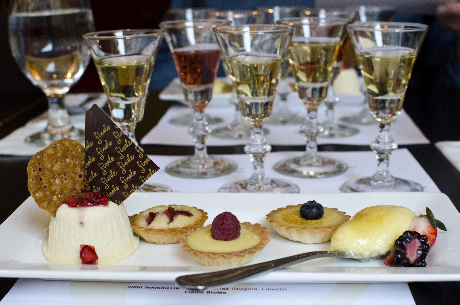 Wine And Dessert  Fork it over Boston An Evening of Ice Wines and