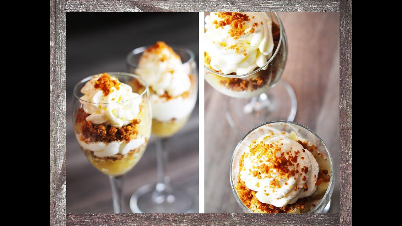 Winter Desserts Recipe  Rustic Winter Dessert Apple Trifle recipe