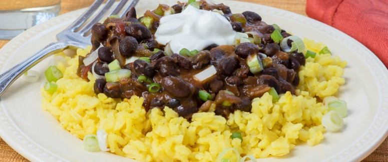 Yellow Rice And Beans  Black Beans and Yellow Rice – Pratesi Living