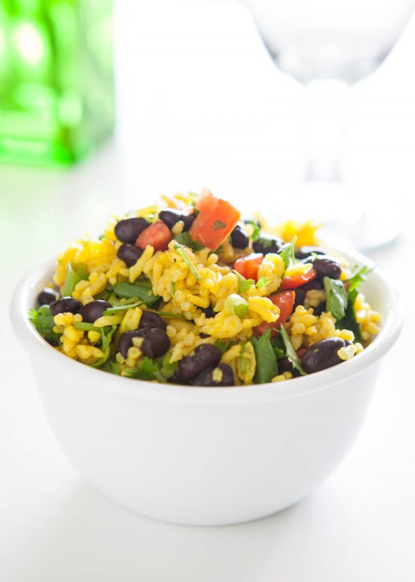 Yellow Rice And Beans  IMG 1514