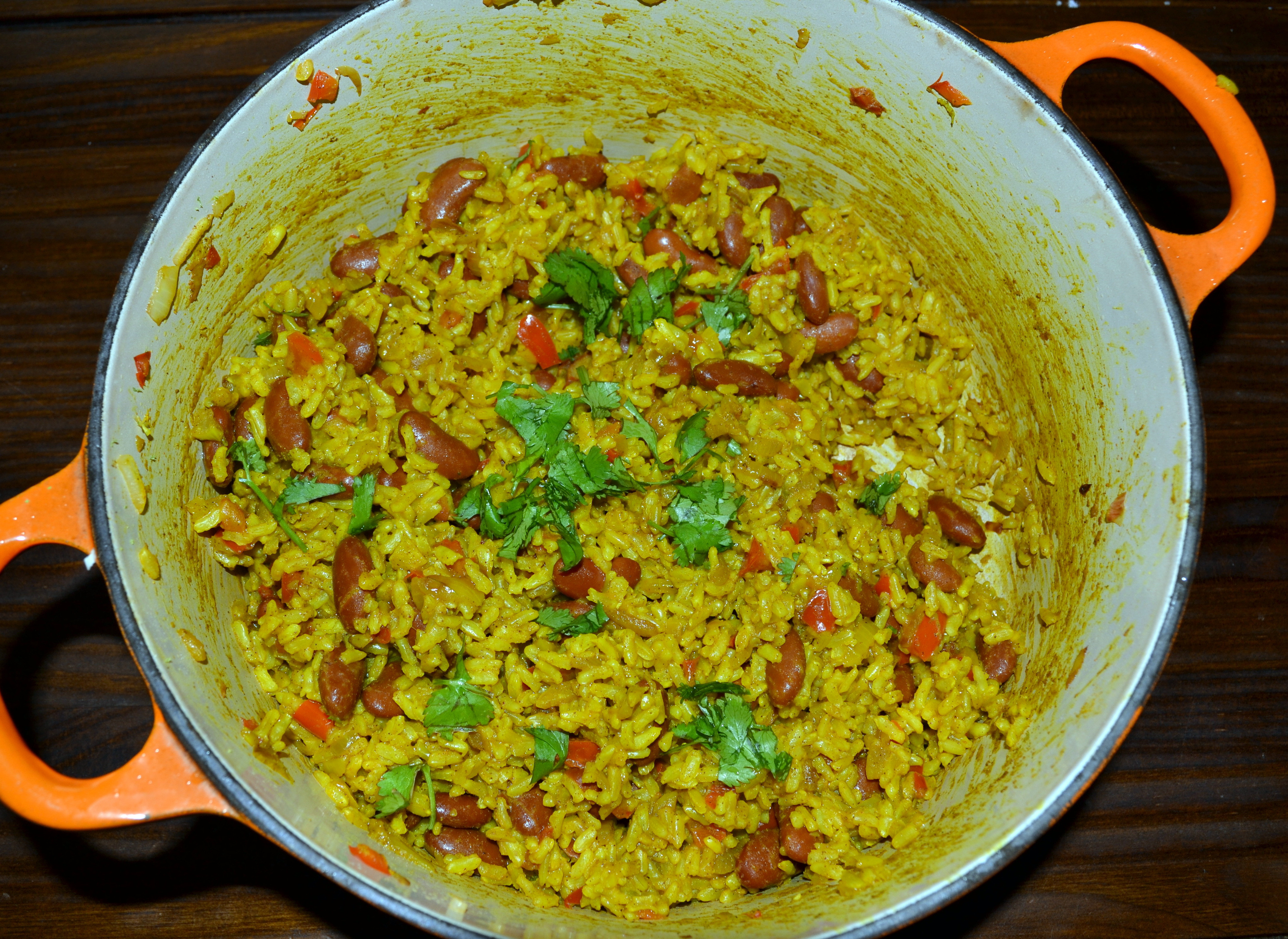 Yellow Rice And Beans  Yellow Rice and Red Beans Salubrious RD