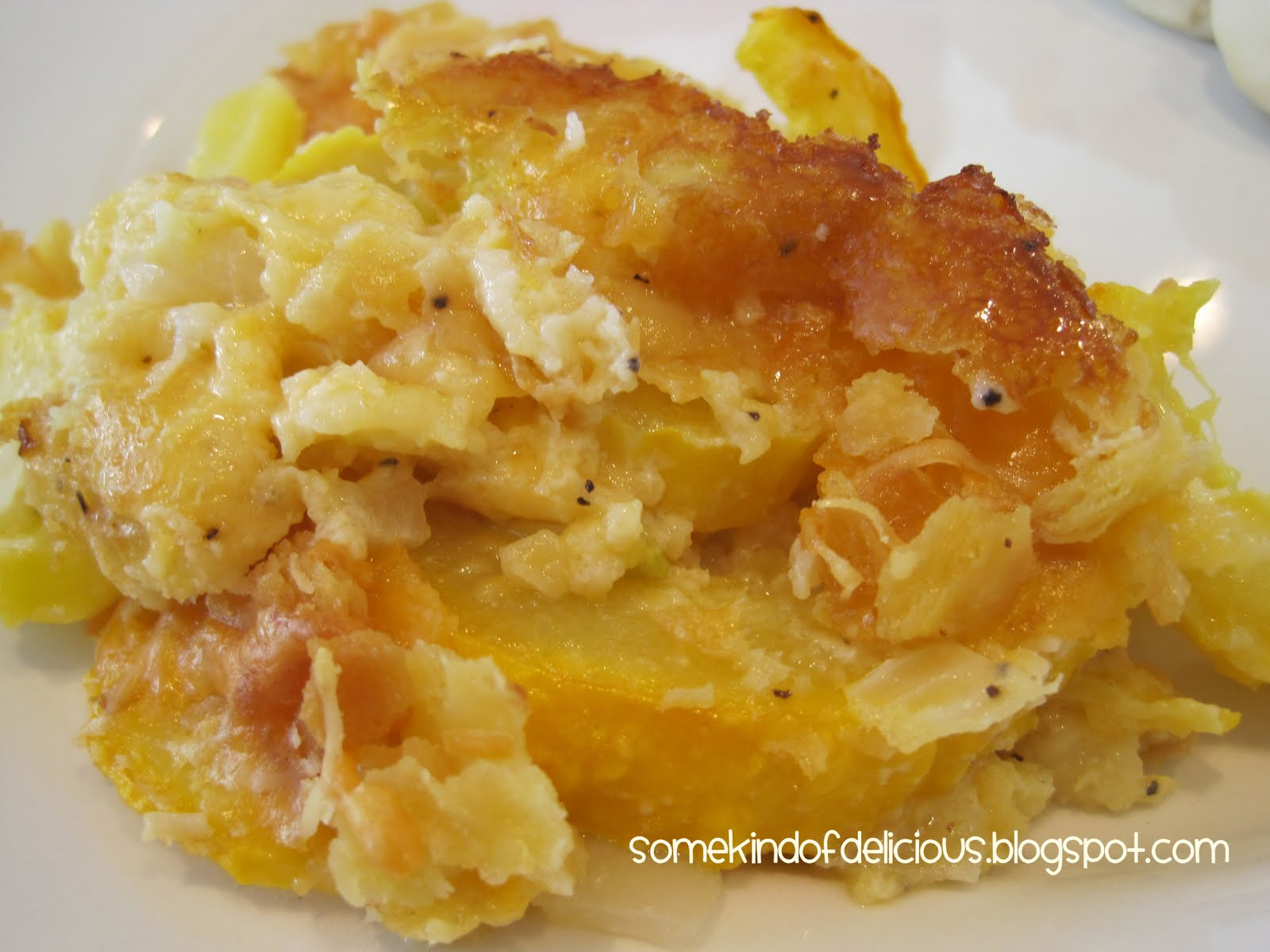 Yellow Squash Casserole Recipes  Some Kind of Delicious Yellow Squash Casserole