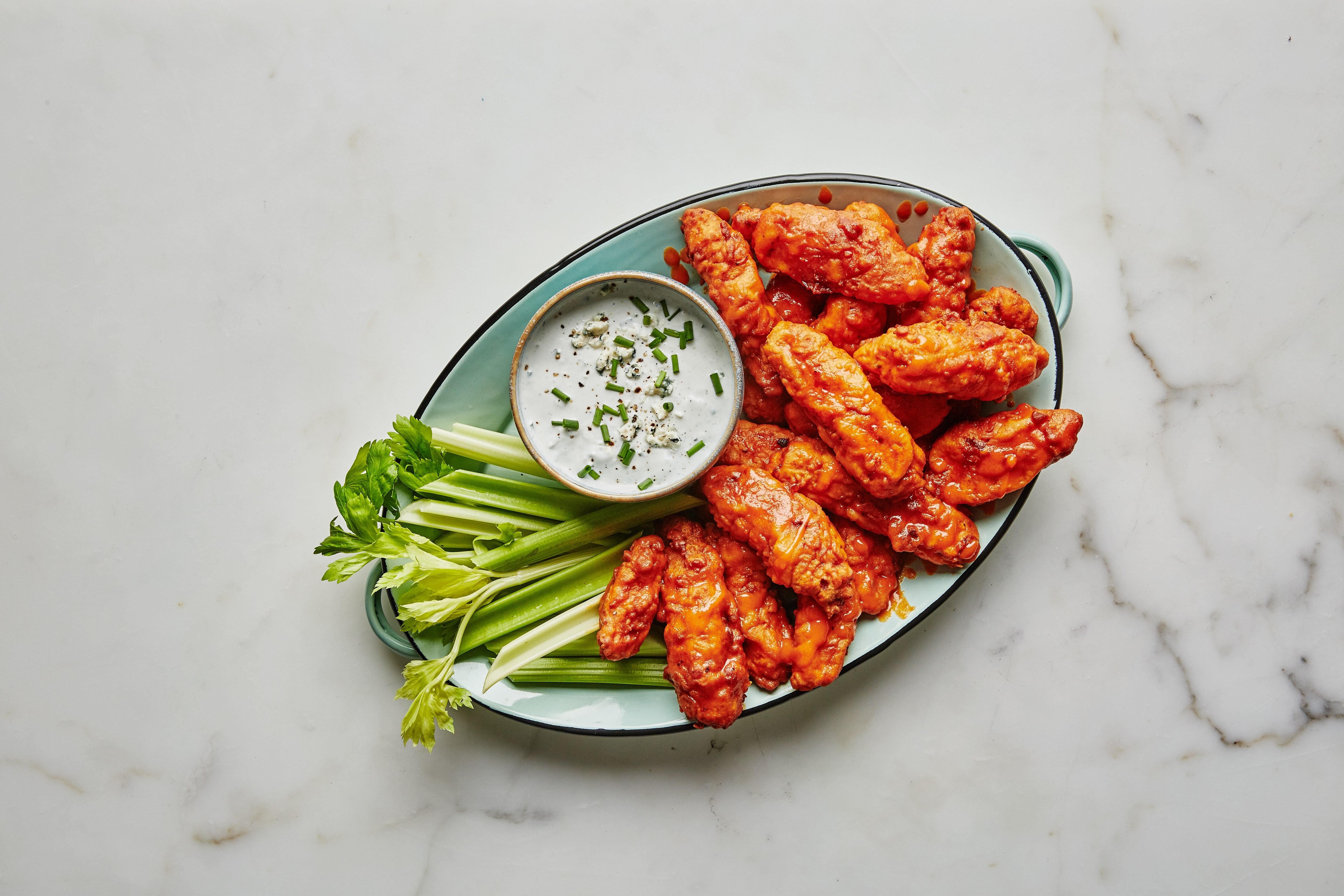 """Zaxby'S Chicken Fingers & Buffalo Wings  Boneless Buffalo Chicken """"Wings"""" Recipe"""