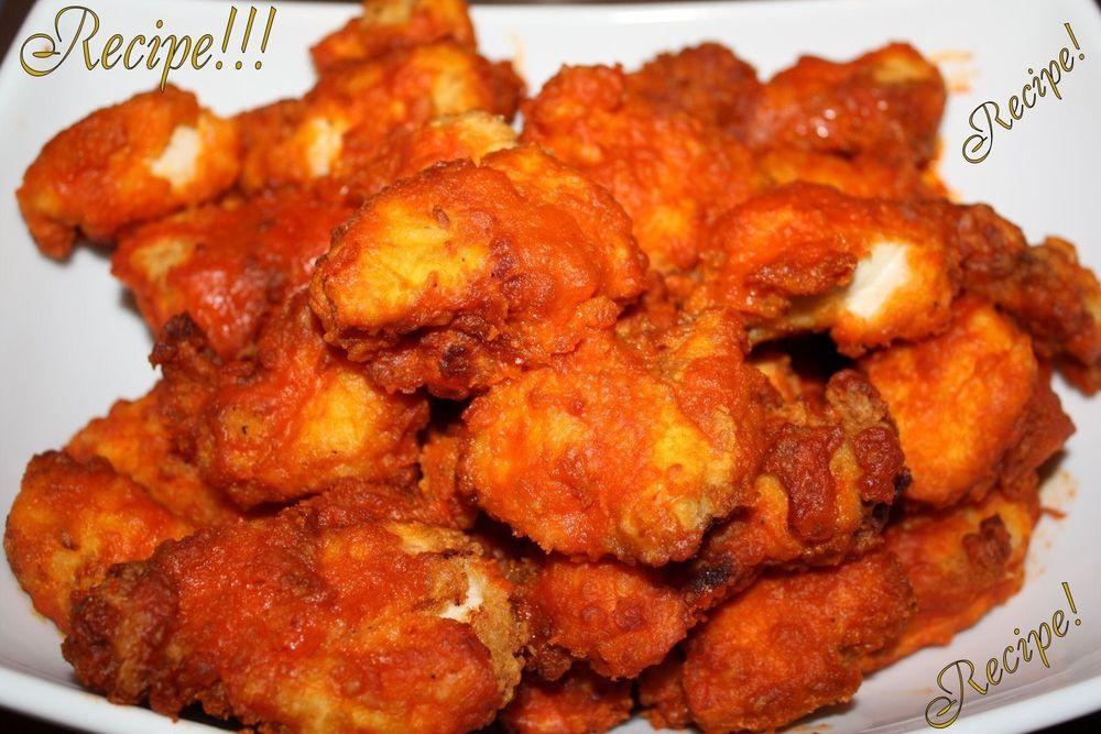 """Zaxby'S Chicken Fingers & Buffalo Wings  ☆Buffalo Hot Wings """"RECIPE"""" & Copycat Red Hot Sauce"""