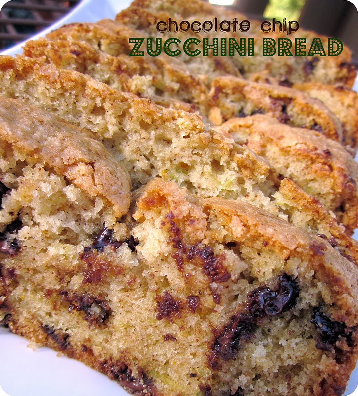 Zucchini Bread Paula Deen  Moist Chocolate Chip Zucchini Bread Six Sisters Stuff
