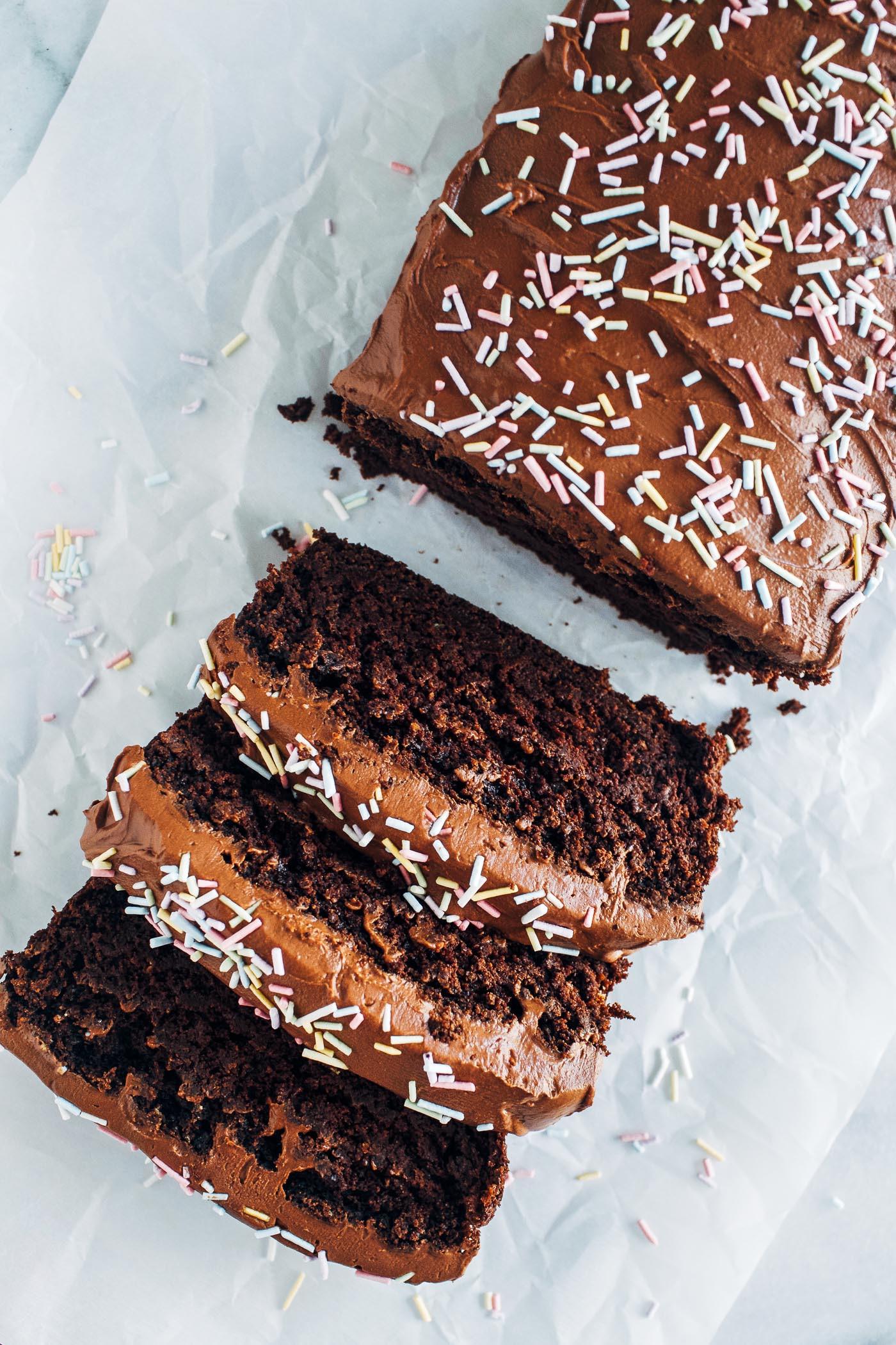 Zucchini Cake Recipes  Double Chocolate Zucchini Cake Making Thyme for Health
