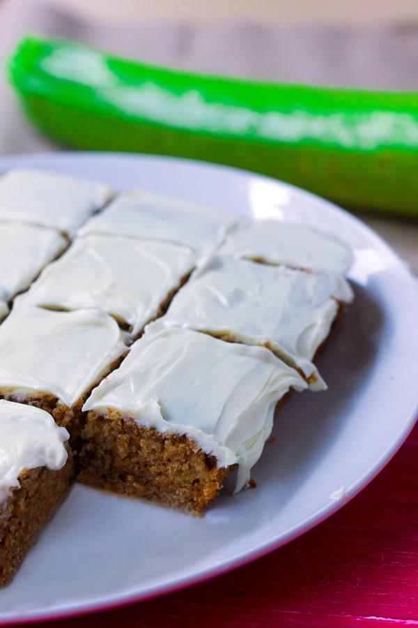 Zucchini Cake Recipes  Moist Zucchini Cake – With Greek Yogurt Frosting
