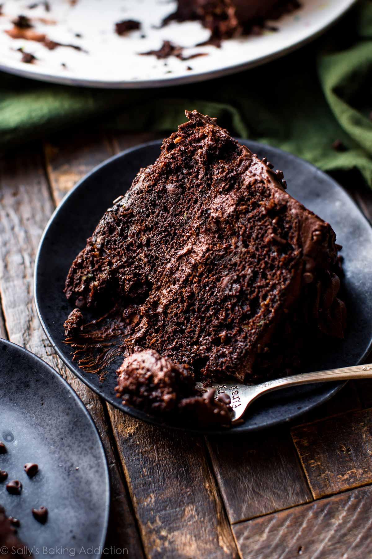 Zucchini Cake Recipes  Chocolate Zucchini Cake Sallys Baking Addiction