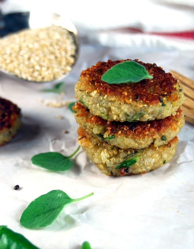 Zucchini Cakes Recipes  quinoa zucchini cakes vegan