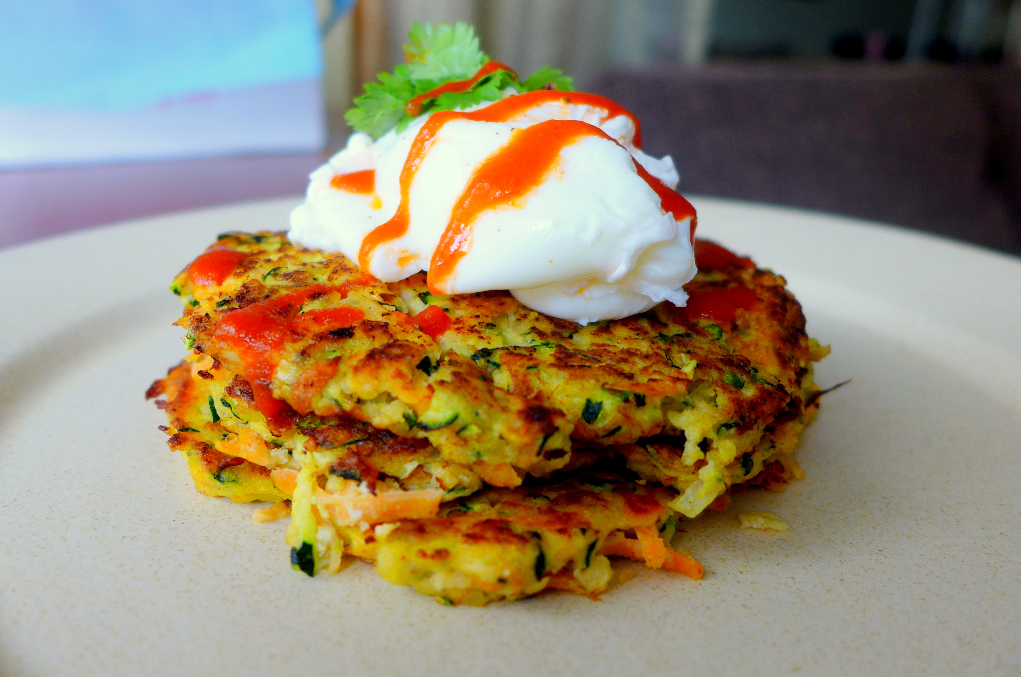 Zucchini Fritters Paleo  Paleo Zucchini and Carrot Fritters – Kelly Siew Cooks