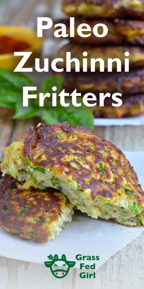 Zucchini Fritters Paleo  Fried Zucchini Recipe Paleo Fritters