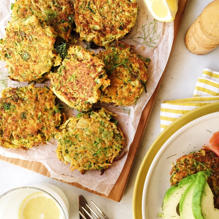 Zucchini Fritters Paleo  Paleo Recipe Paleo Zucchini and Carrot Fritters
