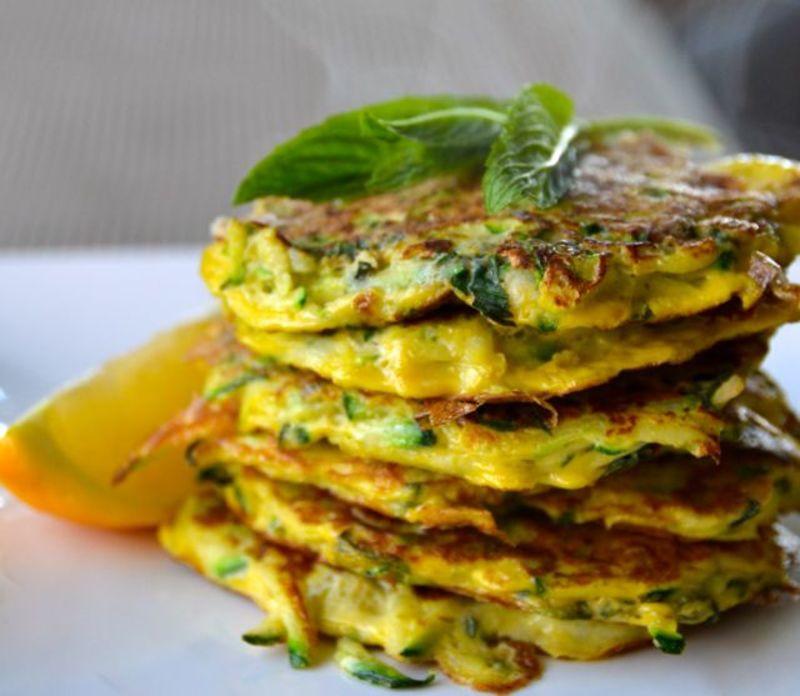 Zucchini Fritters Paleo  Paleo Zucchini Fritters Recipe RecipeYum