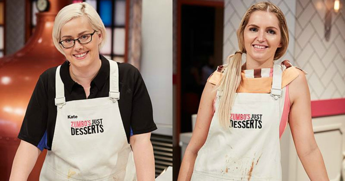Zumbo'S Just Desserts Kate  The very first winner of Zumbo s Just Desserts has been