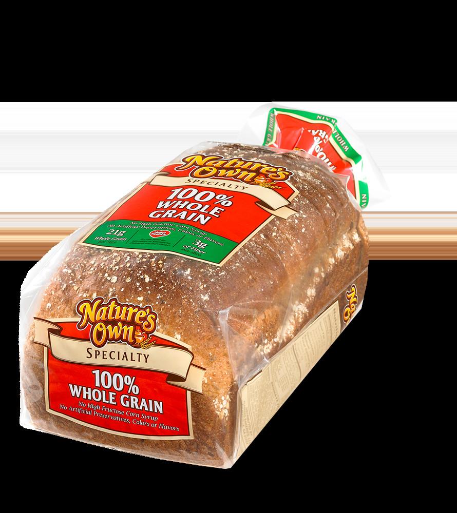 100% Whole Grain Bread  Whole Grain Specialty
